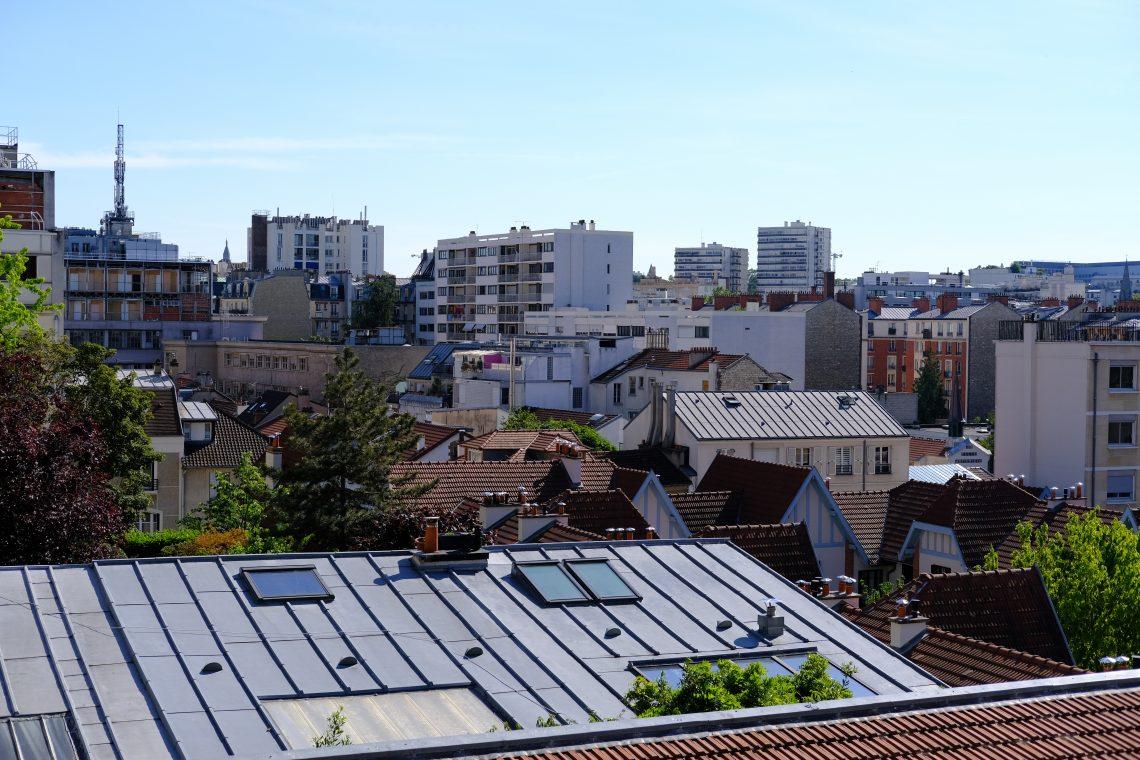 La belle vue sur Paris depuis la Petite Russie