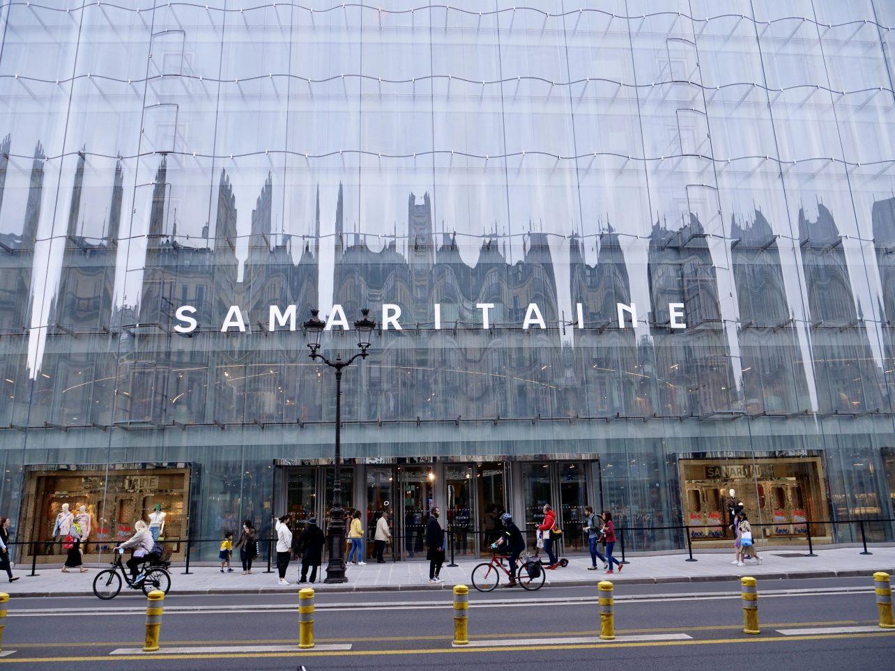 La façade de la Samaritaine