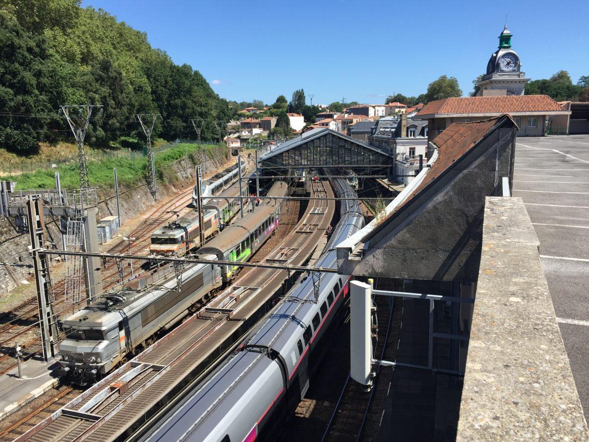 La gare de Bayonne
