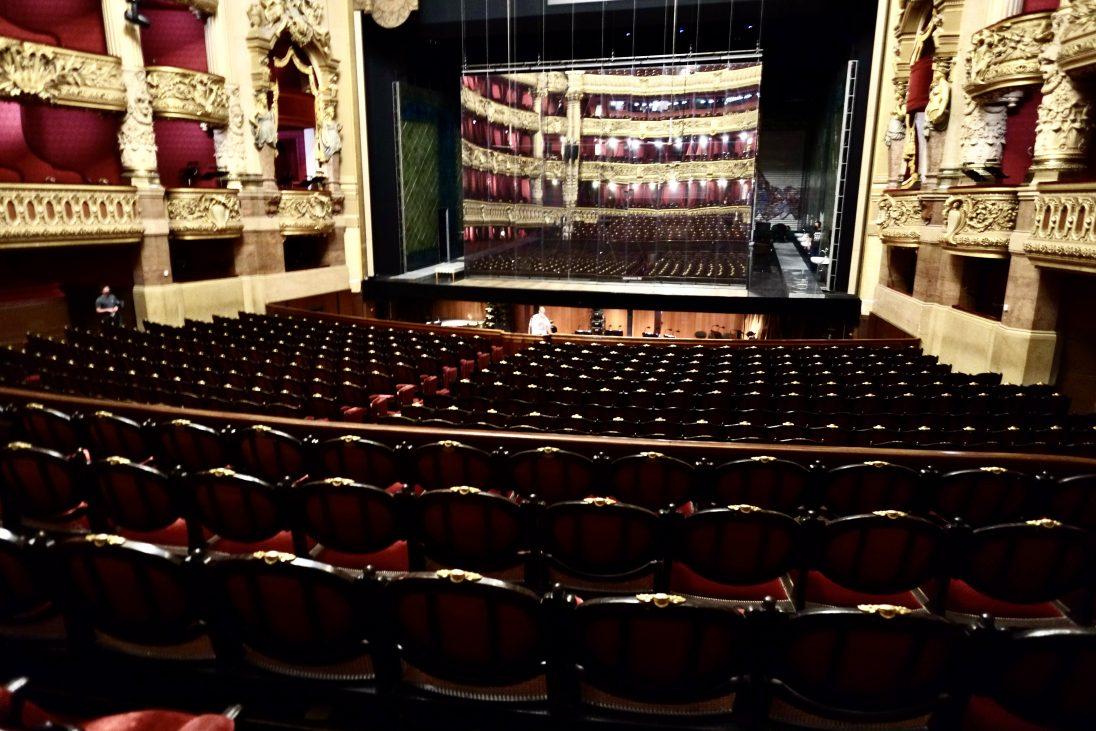 La salle de l'Opéra Garnier une invitation à l'imaginationLa salle de l'Opéra Garnier une invitation à l'imagination