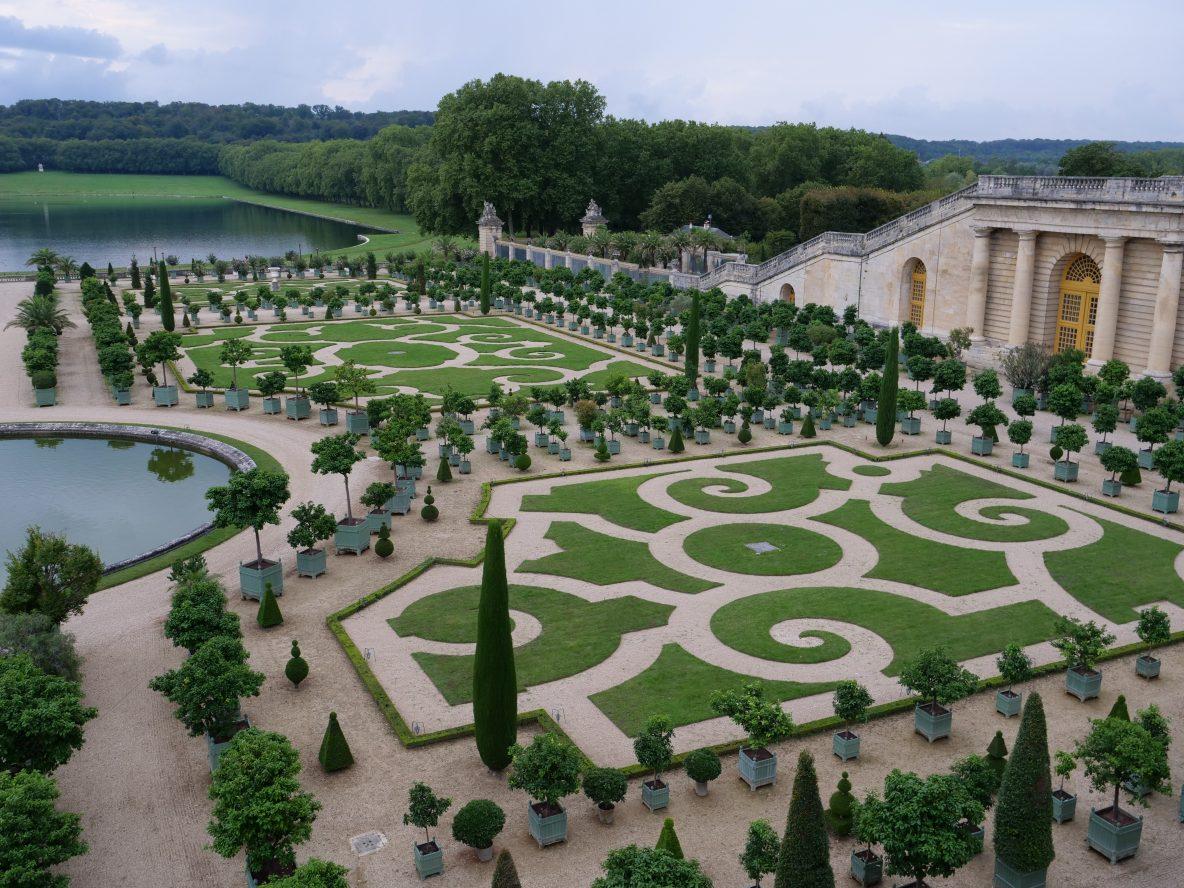 L'aile droite de l'Orangerie de Versailles