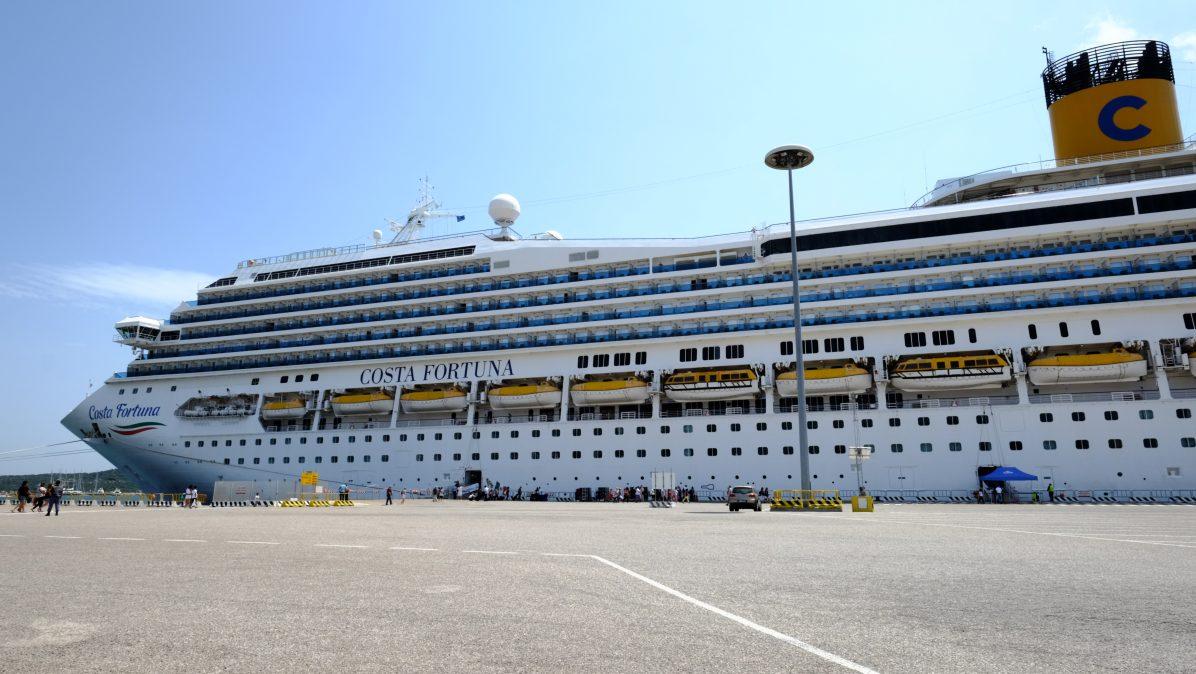 Le Costa Fortuna, l'un des navires de la flotte Costa