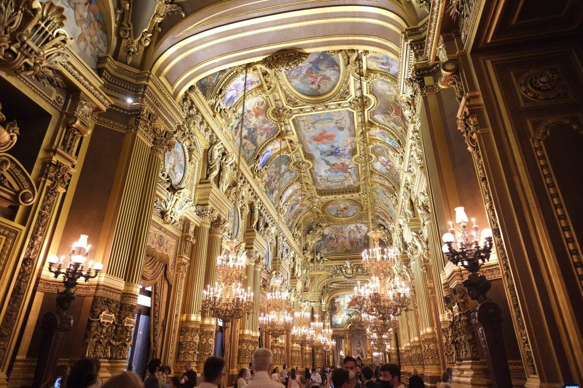 Le Grand Foyer et ses salons