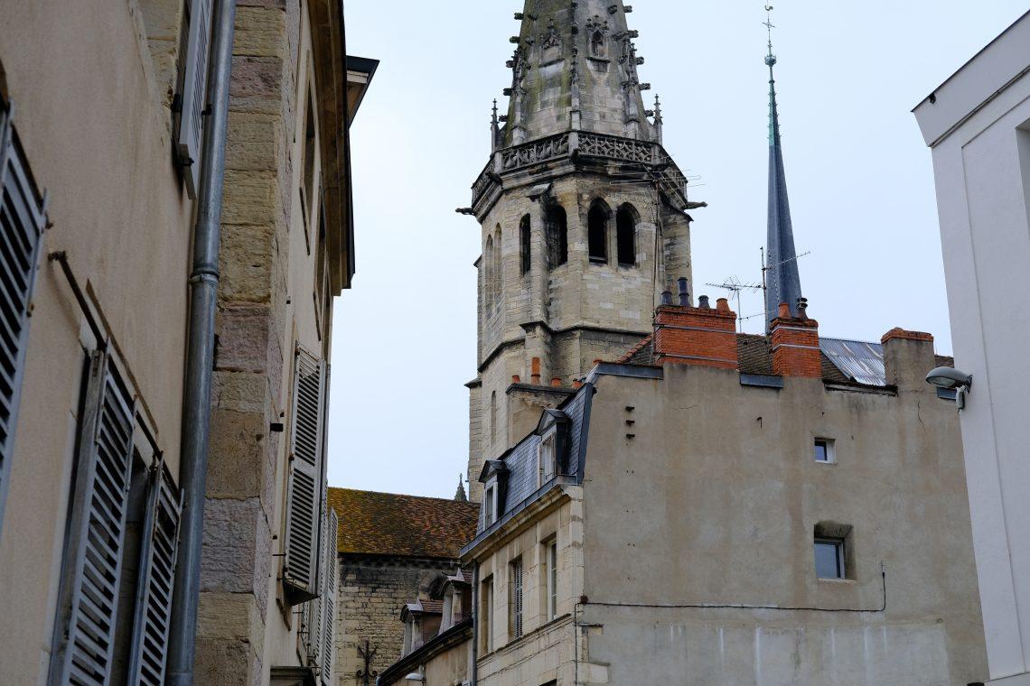 Le centre ville de Dijon