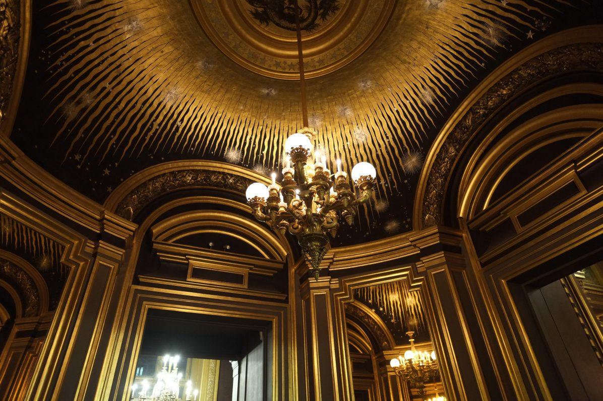 Le salon du soleil qui se trouve à l'une des extrémités du Grand Foyer © Yann Vernerie