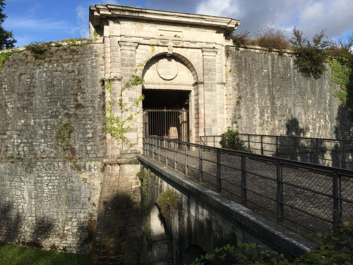 Les anciens remparts de Bayonne