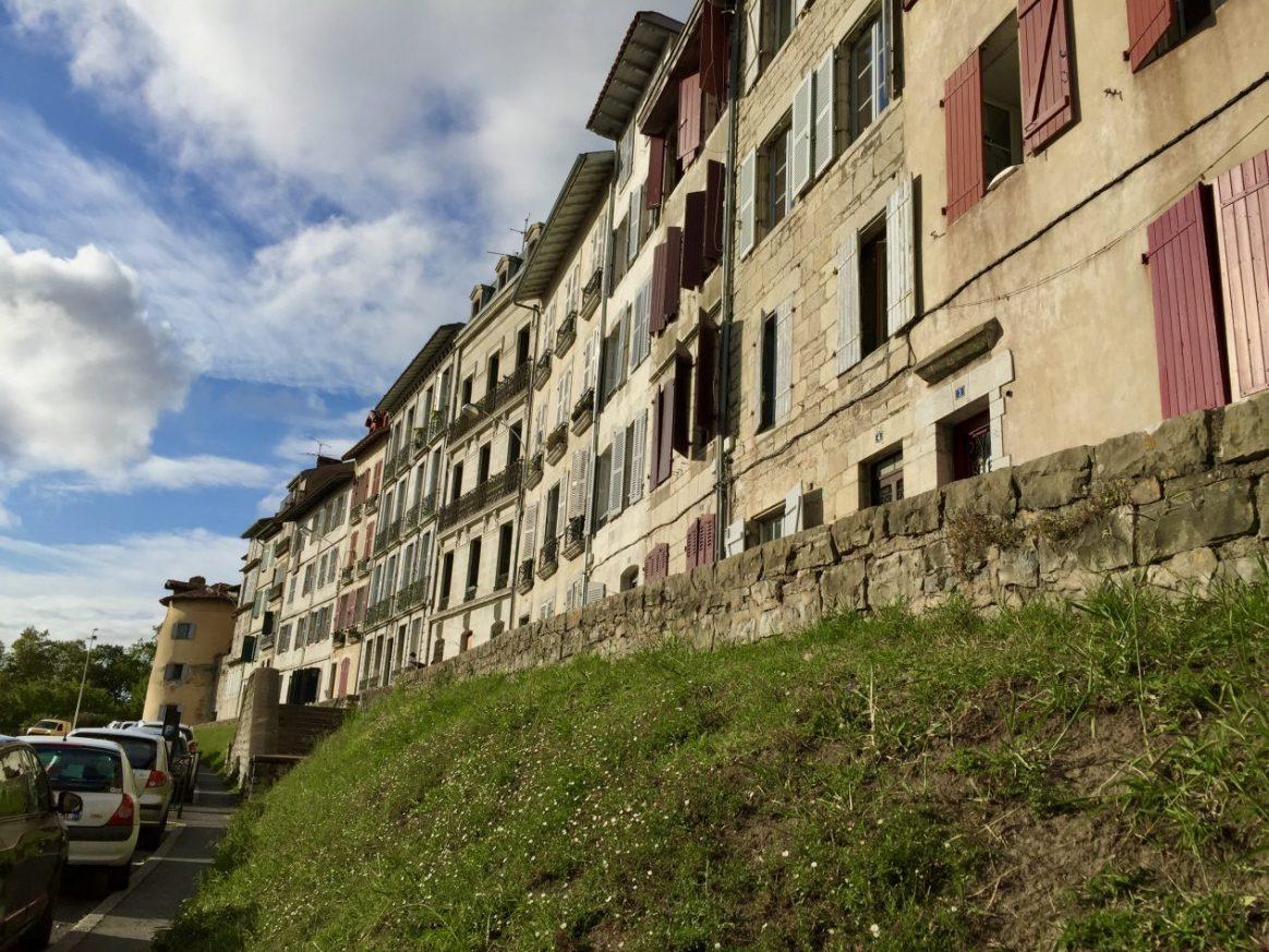 Les immeubles historiques de la porte d'Espagne