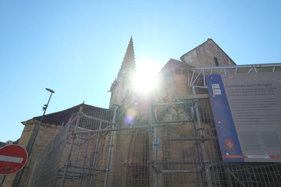 Les travaux de conservation de l'église Saint-Philibert de Dijon