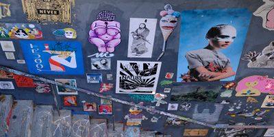 L'escalier du Lavomatik un lieu incontournable du street art à Paris
