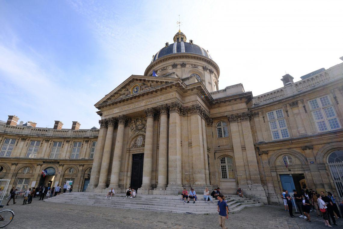 L'institut de France au mois de septembre pendant les journées du patrimoine