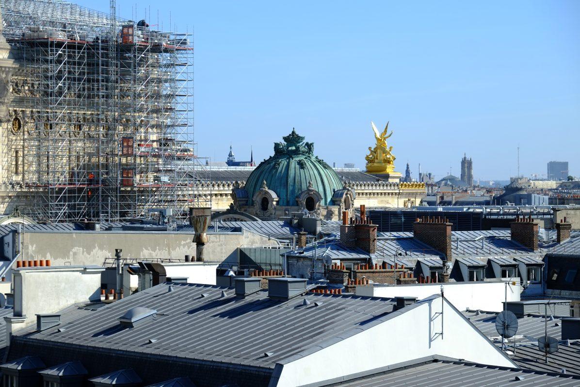 L'un des dômes du Palais Garnier