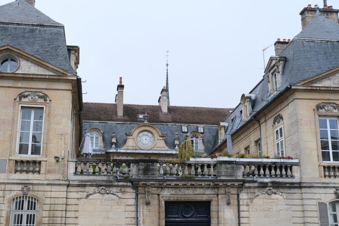 L'un des hôtels particuliers de Dijon