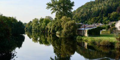 Un joli panorama depuis les bords de la Meurthe