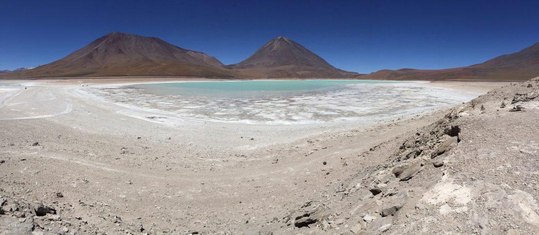 L'incroyable Laguna Verde à plus de 3000 mètres de hauteur